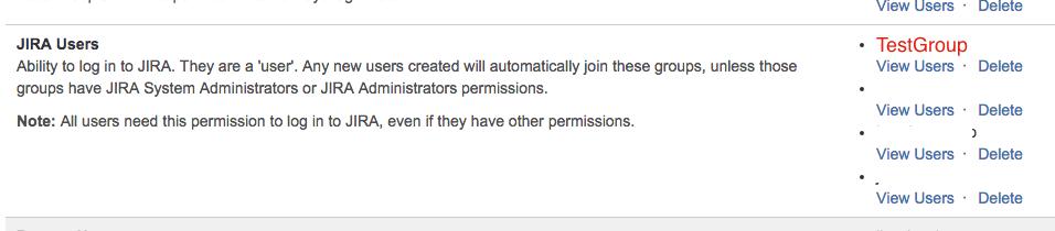 Single Project Access JIRA Users