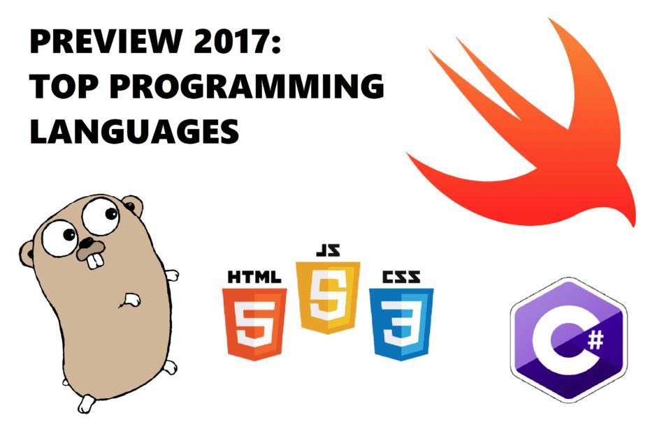 Blog #5 image - 2017 Top Programming Languages