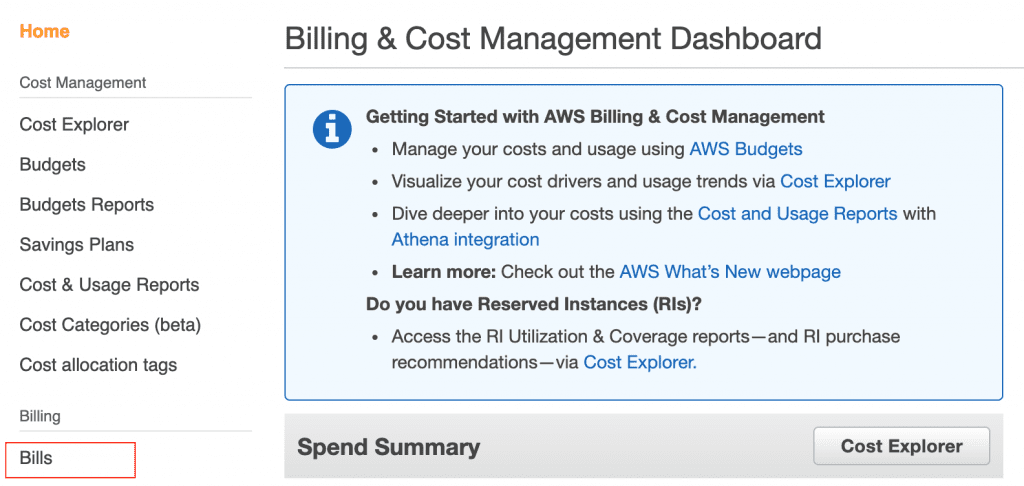 AWS Billing Issues