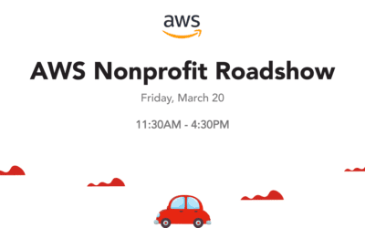 AWS Nonprofit Roadshow San Francisco