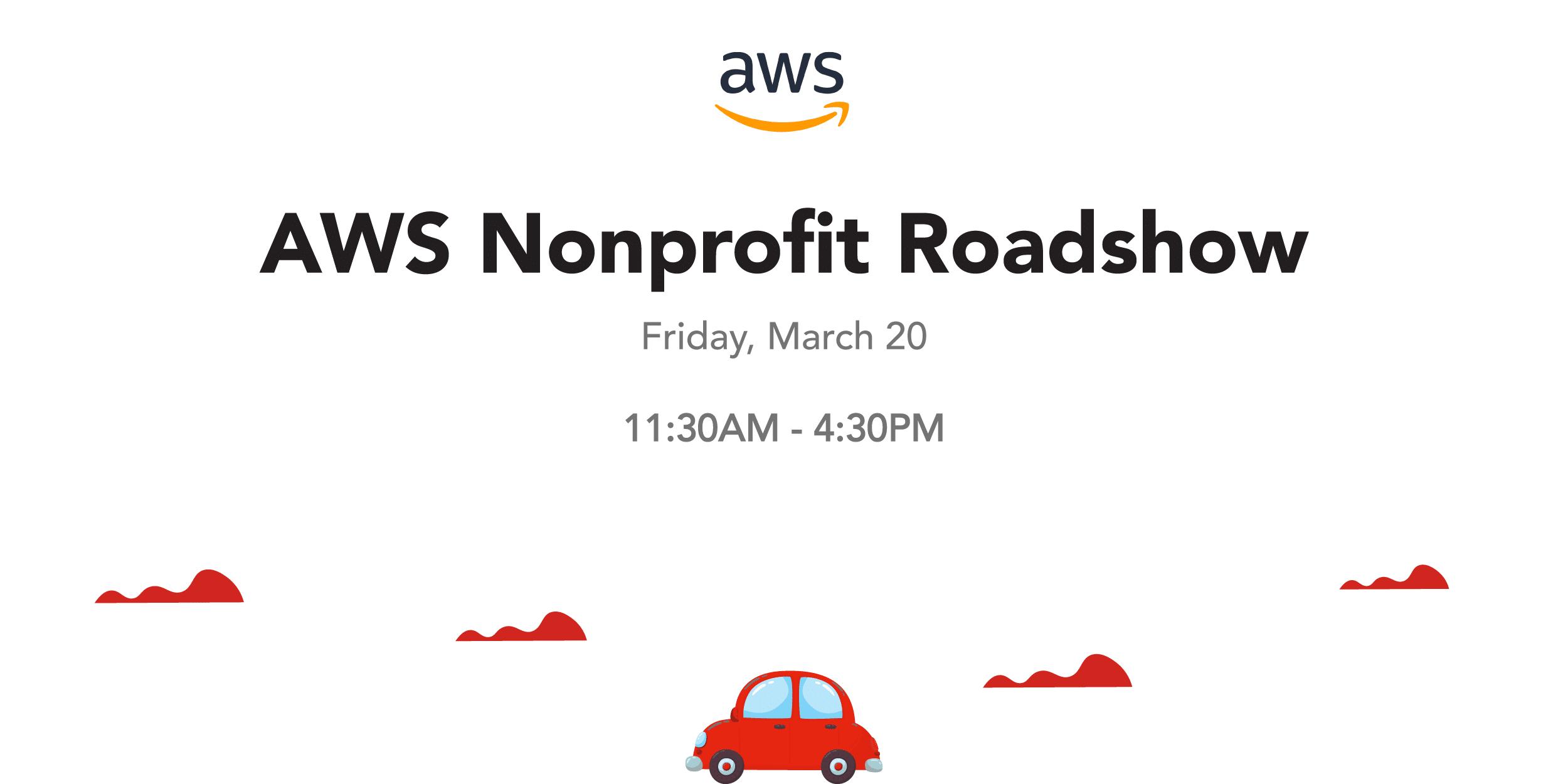 AWS Nonprofit Roadshow