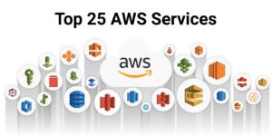 Top 25 Amazon Web Services (AWS) Services